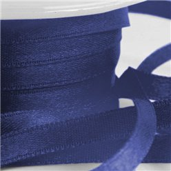 Navy Blue Satin Ribbon - 6mm