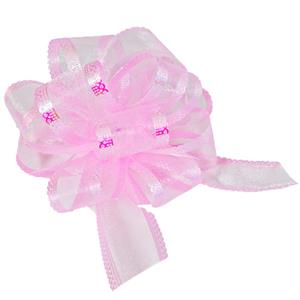 Organza Pull Bow - Light Pink