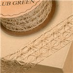 Hessian Wired Lace - 10m