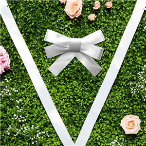 White Wedding Car Ribbon & Bows Kit - 9m