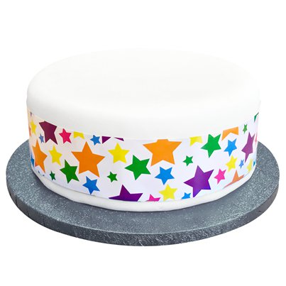 Bright Superstars Cake Frill