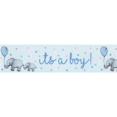 It's a Boy Cake Ribbon - 1m