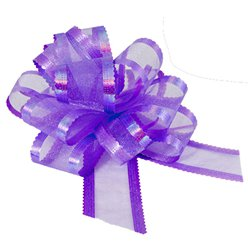 Organza Pull Bow - Lavender