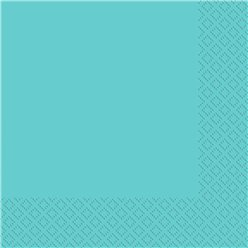 Robin's-Egg Blue Dinner Napkins - 2ply Paper