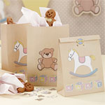 Rock A Bye Baby Party Supplies Paper Party Bags