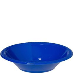 Royal Blue Plastic Bowls - 355ml