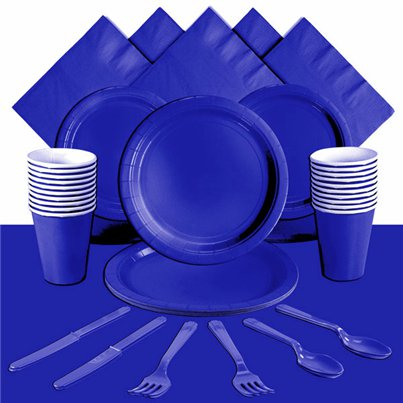 Royal Blue Party Pack For 20 People