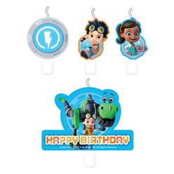 Rusty Rivets Birthday Candles
