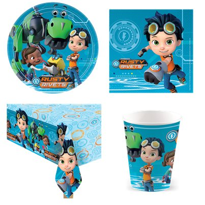 Rusty Rivets Value Party Pack
