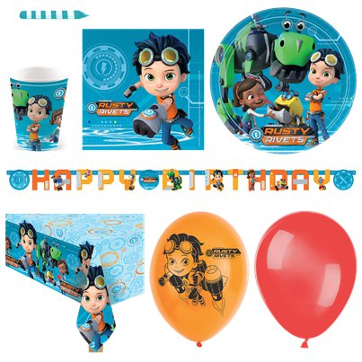 Rusty Rivets Deluxe Party Pack