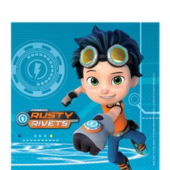Rusty Rivets Lunch Napkins - 33cm
