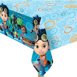 Rusty Rivets Plastic Tablecover - 1.8m x 1.2m
