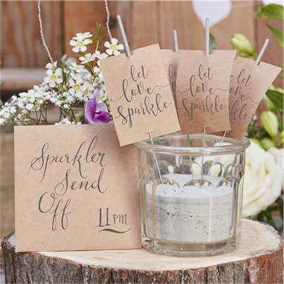 Rustic Country Sparklers - 18cm