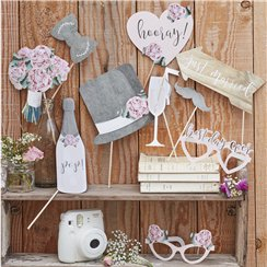 Rustic Country Photo Booth Props