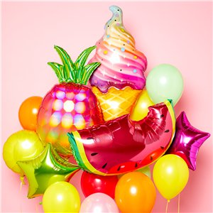 Iridescent Pineapple SuperShape Balloon - 31