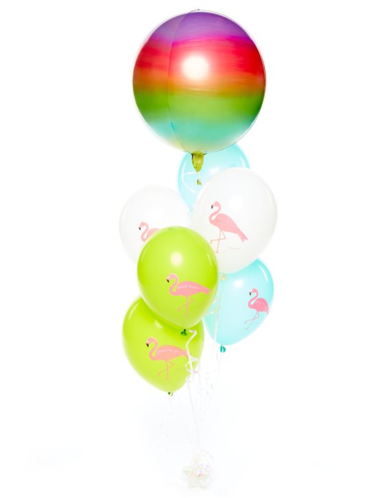 Ombre Flamingo Balloon Kit