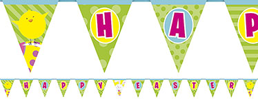'Happy Easter' Bunting - 4.2m