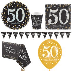 Sparkling Celebration 50th Birthday Party Pack