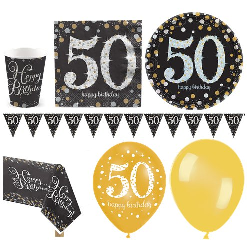 Sparkling Celebration 50th Birthday Party Pack