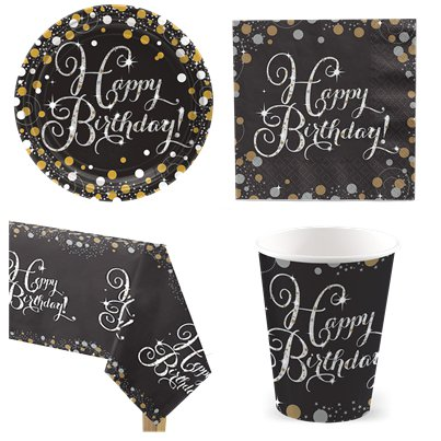 Sparkling Celebration 80th Birthday Party Pack