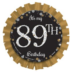 Gold Sparkling Celebration Add an Age Badge