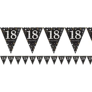 Sparkling Celebration 18th Birthday Party Pack - Deluxe Party Pack For 16
