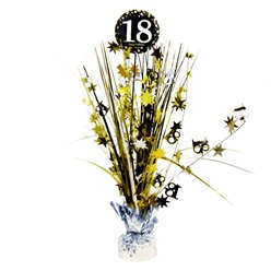 Sparkling Celebration Age 18 Table Centrepiece - 46cm
