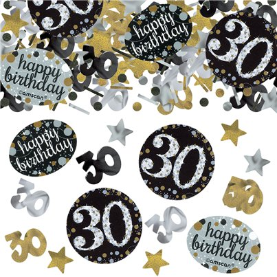 Sparkling Celebration Age 30 Confetti - 34g Bag