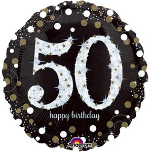 50th Sparkling Celebration Decorating Kit - Premium