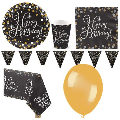 Sparkling Celebration Party Pack - Deluxe Pack for 8