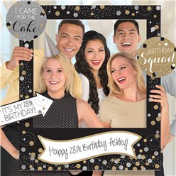 Sparkling Celebration Add an Age Giant Photo Frame with Props