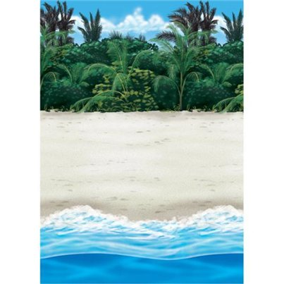 Beach Backdrop Scene Setter - 15.2m