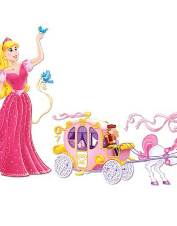 Princess & Carriage Add-Ons - 1.7m