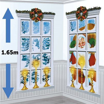 Frosted Window Scene Setter - 1.65m