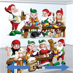 Santa's Workshop Elves Add-On - 1.6m