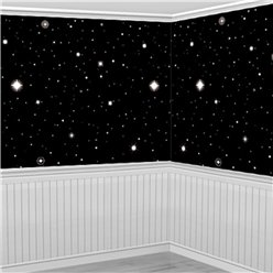 Starry Night Backdrop Scene Setter - 12.5m