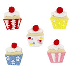 Cupcake Sugar Toppers - Cake Decorations