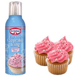 Dr. Oetkaer Easy Swirl Cupcake Icing - Pretty Pink