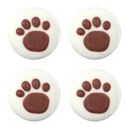 Paw Prints Sugar Toppers