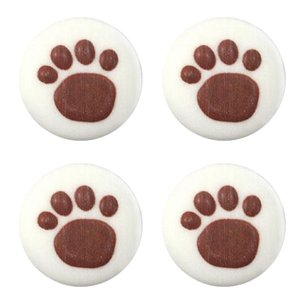 Paw Prints Sugar Toppers - Cake Decorations