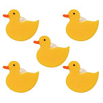 Duckies Sugar Toppers - Cake Decorations