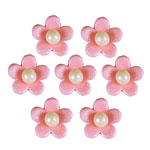 Pink Blossom Sugar Toppers - Cake Decorations