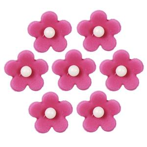 Fuchsia Flower Sugar Toppers