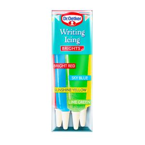 Writing Icing Brights - Dr Oetker
