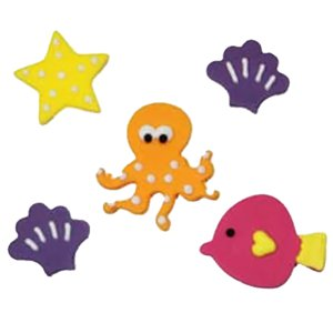 Sea Life Sugar Toppers