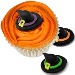 Witch Hat Sugar Cake Toppers - 5pk