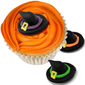 Witch Hat Cake Toppers