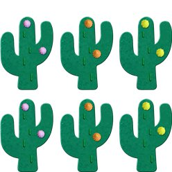 Cactus Sugar Toppers - Cake Decorations