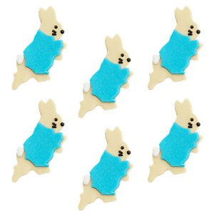 Peter Rabbit Sugar Toppers - Cake Decorations