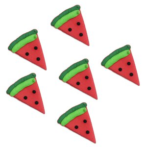 Tropical Watermelon Sugar Toppers - Cake Decorations